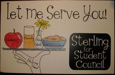 great student council posters | ... speech. He will give it to his class tomorrow. Good luck, Sterling