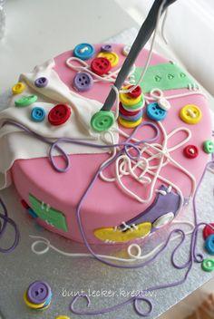 Torte...Nähen...Geburtstag :O)