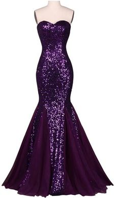 Grace Karin Sequin Long Evening Dress Prom Wedding