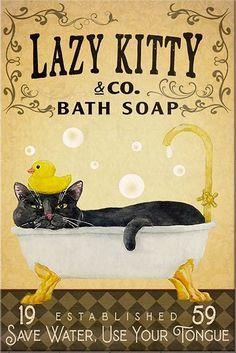 I Love Cats, Crazy Cats, Cool Cats, Black Cat Art, Black Cats, Fancy Cats, Cat Posters, Cat Room, Animal Projects