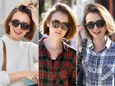 ELIZABETH AND JAMES SHADES photo | Lily Collins