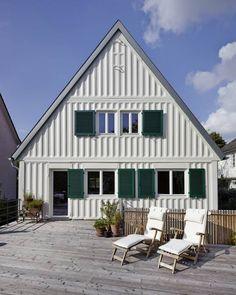 Terrasse: ausgefallene Häuser von Turck Architekten