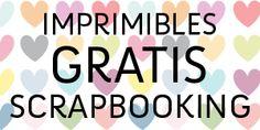 Imprimibles gratis para Scrapbooking