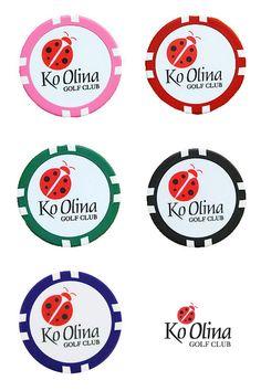 Ko Olina Golf Club Casino chip marker ハワイ限定  コオリナゴルフクラブ カジノチップボールマーカー