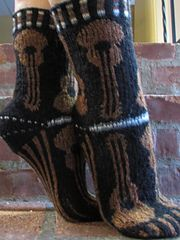 Ravelry: MUSICA Guitar Socks pattern by Deborah Tomasello
