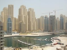 Dubai Marina - where Hannah Harker performs a messy job for her new employer.    www.disturbed-girl.com