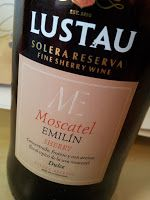 "Wine Gossip From Spain: Lustau Moscatel ""Emilín"""