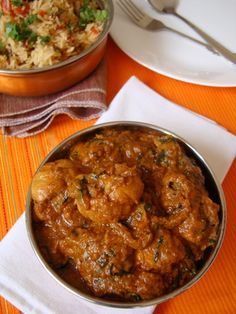 Methi Murgh ~ Chicken with Fenugreek leaves - Indian food recipes - Food and cooking blog