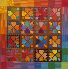 Quilt Inspiration: Free pattern day: Hearts and Valentines