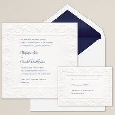 Old World Elegance Wedding Invitation | #exclusivelyweddings