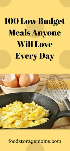 100 Low Budget Meals Anyone Will Love Every Day - Expolore the best and the special ideas about Frugal meals Low Budget Meals, Eat On A Budget, Budget Meal Planning, Dinner On A Budget, Cooking On A Budget, Frugal Meals, Easy Cooking, Cooking Recipes, Healthy Recipes