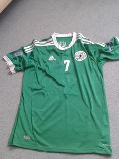 DFB Deutschland Trikot Away grün Gr. L Schweinsteiger Nr. Patches, Vintage Shoes, Polo Shirt, Ebay, Sports, Mens Tops, Stuff To Buy, Fashion, Polos