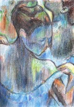 Blue Dancers Edgar Degas