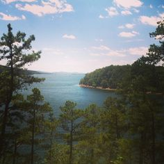 Lake Catherine State Park (About 1.5 hours from Little Rock). Absolutely BEAUTIFUL.