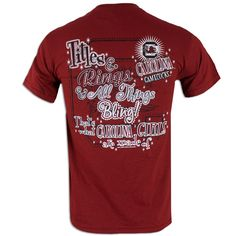 South Carolina Gamecock Ladies Bling T-Shirt
