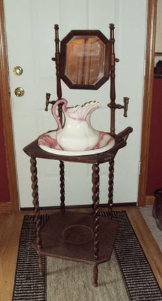 141 best Old Wash Stands images on Pinterest Antique wash stand 20