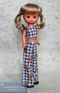 Two Piece Skirt Set, Dolls, Summer Dresses, Skirts, Fashion, Doll Outfits, Tela, Pants Outfit, Doll Clothes