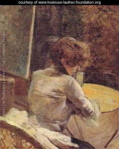 In The Studio - Henri De Toulouse-Lautrec - www.toulouse-lautrec-foundation.org