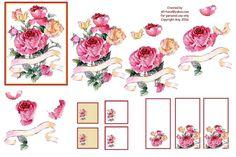 decoupage sheets 3d photo: The Rose Spray rosespraysheet.jpg