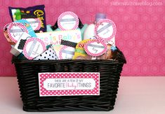 Free Baby Shower Gift Printables www.247moms.com #247moms
