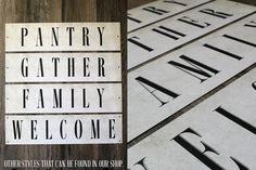 Gather Sign Farmhouse sign Farmhouse Home by Thesignshoppe1