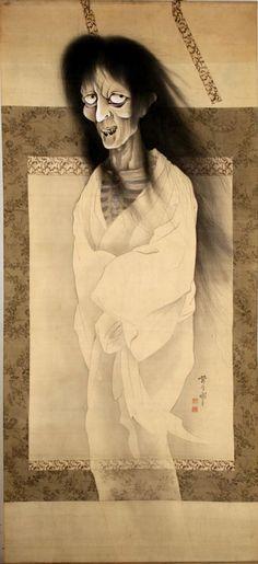 幽霊図 / Yurei-zu / View of ghost by Shimizu Takashi