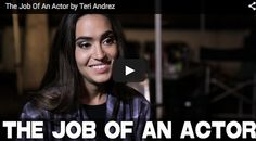 The Job Of An #Actor by #TeriAndrez From the Upcoming #Film LIMELIGHT via http://filmcourage.com  For more videos, please visit https://www.youtube.com/user/filmcourage  #acting #actingtips #performingarts #theatremajor #dramadepartment #actingclass #audition