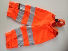 I kehr for you - Matschhose für Welten-Entdecker; Coole #Upcycling Kinderhose (für Mädchen + Jungen) aus einer Müllhandwerker-Jacke /// Mud Trousers for kids made from waste collectors's jacket