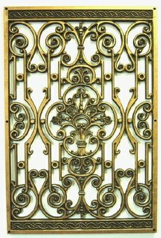 images about WROUGHT IRON MEDALLIONS WALL DECOR