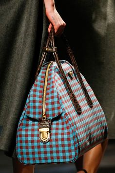 Prada Fall 2013. I would never find anything in this bag.