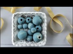 Technique: How to Make HOLLOW Polymer Clay Beads Using Spun Cotton Balls - YouTube