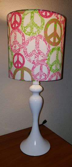 2 - Peace Sign Lamps