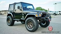 All Black Jeep Wrangler, Jeep Wrangler Lifted, Jeep Wrangler For Sale, Cj Jeep, Jeep Rubicon, Two Door Jeep Wrangler, Lifted Jeep Cherokee, 2 Door Jeep, Jeep Stuff