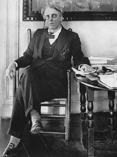 """""""Being Irish, he had an abiding sense of tragedy, which sustained him through temporary periods of joy."""" —W. B. Yeats"""