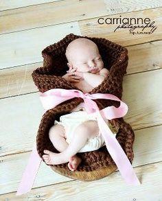 Peek-A-Boo Baby Wrap | AllFreeCrochet.com