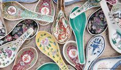 casa de perrin /a boutique rental co. My Obsession Color Collage, Best Pens, Asian Decor, China Art, Martha Stewart Weddings, Little Boxes, A Boutique, A Table, Tea Pots