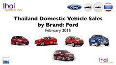 Thailand Car Sales Ford February 2015