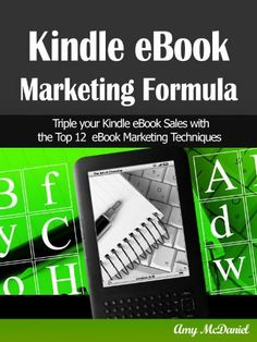 FREE @amazonkindle: Kindle eBook Marketing Formula: Triple Your eBook Sales with 12 Top eBook Marketing Techniques by Amy C. McDaniel, http://www.amazon.com/dp/B008N2V4HK/ref=cm_sw_r_pi_dp_Qv-dqb1J8MEDK