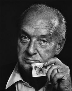 Vladimir Nabokov, by Yousuf Karsh. One of my favourite authors.