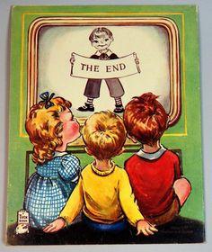 """""""Ten Little Nursery Rhymes"""" Tuck 1953, illus. Dinah   eBay"""