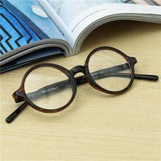 3587b491ecd9  US 5.88  Men Women Vintage Round Eyeglasses Frame Full-Rim Retro Glasses  Optical