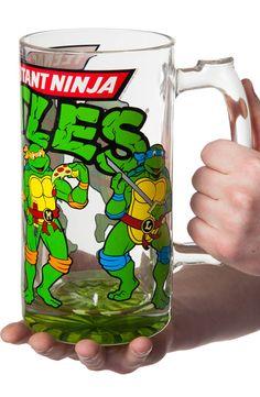 TMNT Beer Mug