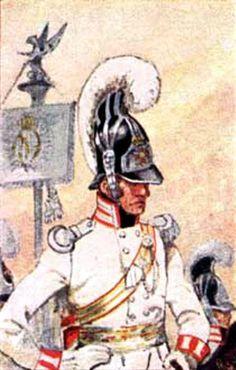 Baden-officer of the Garde du Corps 1813 Fig. H Knotel.