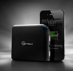 iGeek portable backup battery charger http://www.newtrent.com/store/iphone-external-battery-iphone-portable-battery/newtrent-igeek-imp99d-portable-battery-pack.html
