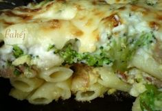 Diy Food, Pasta Recipes, Cauliflower, Macaroni And Cheese, Food And Drink, Chicken, Meat, Vegetables, Ethnic Recipes