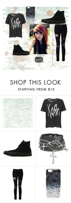 """""""Untitled #71"""" by topfobpatdatlmcrbvbptvbmth ❤ liked on Polyvore featuring WALL, Topshop, Converse, Miss Selfridge and Marc by Marc Jacobs"""