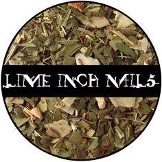 Lime Inch Nails - 2 oz Bag