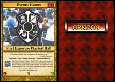 #101: Events: Games: First Exposure Playtest Hall