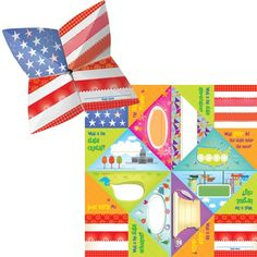 """The 50 States Cootie Catchers.  A fun social studies tool! Pre-printed pages allow children to fill in the answers for the chosen state's motto, nickname, bird, abbreviation, capital and more. Perfect for portable practice and review, individual and small-group work, classroom centers and more! Includes folding and playing instructions. 30 per package, measure 8x8"""". Grades 4-8."""