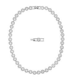 "Swarovski ""ANGELIC"" Necklace *  #Swarovski #Jewelry #Crystals #Necklace #SpringSummer2015 #MarianaCarmona #JewelleryDesigner #Wedding #2015"